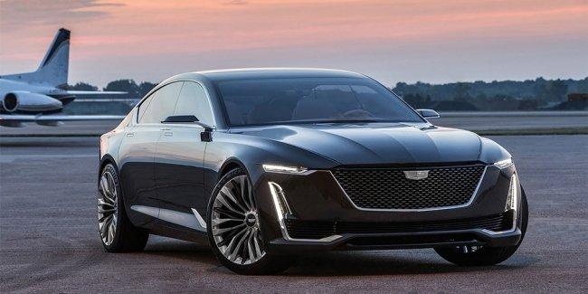 Электромобиль от Cadillac