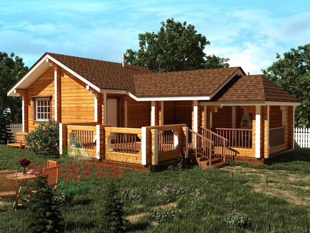 Проекты деревянных бань из бруса: какой выбрать?