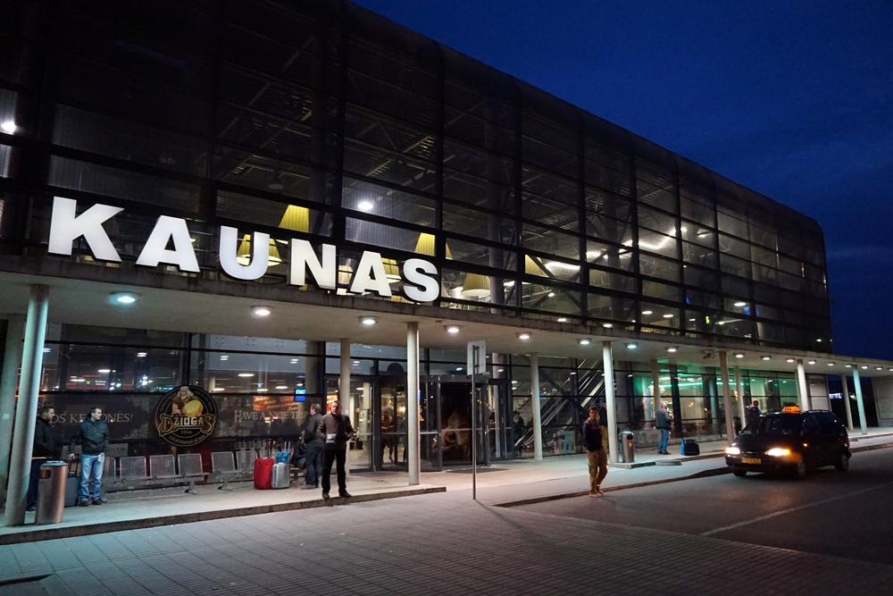 Трансферы в аэропорт Каунас Вильнюс