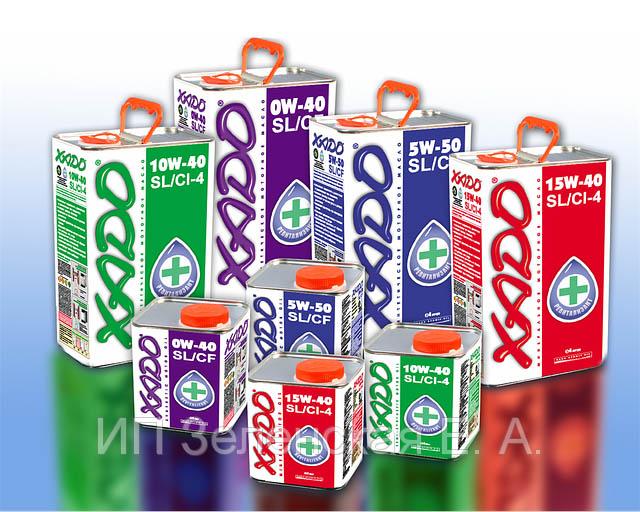 Как создаются масла компании Xado?