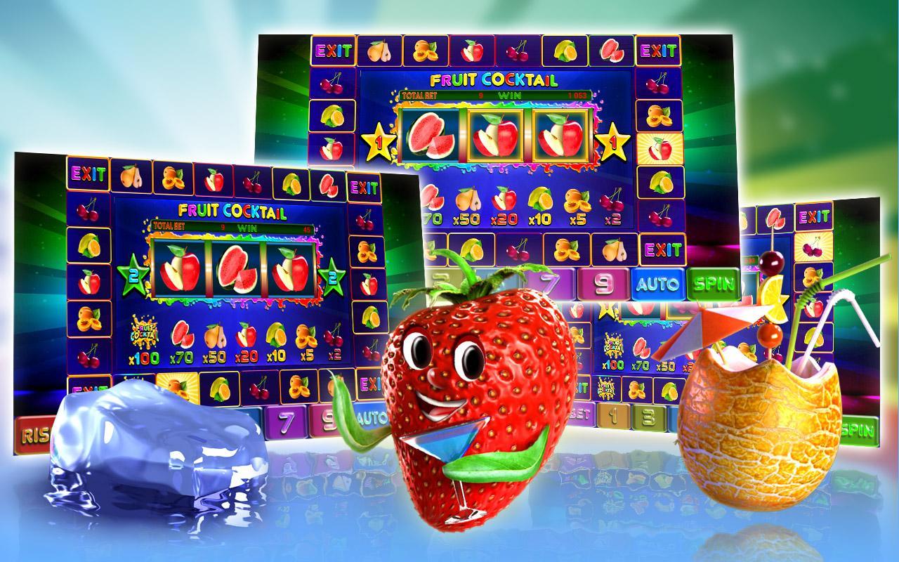 Игровой автомат Fruit Cocktail не позволит вам скучать